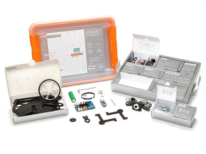 Arduino Engineering Kit Rev2 pro podporu výuky robotiky