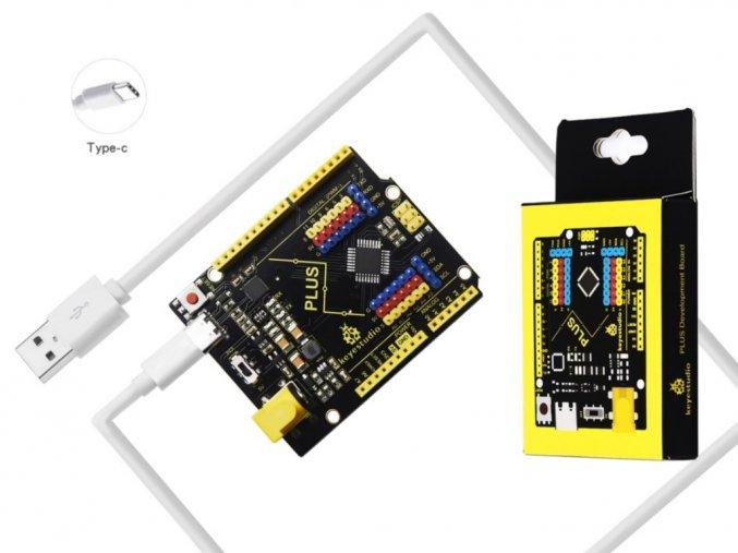 Keyestudio PLUS USB-C kompatibilní s Arduino UNO R3