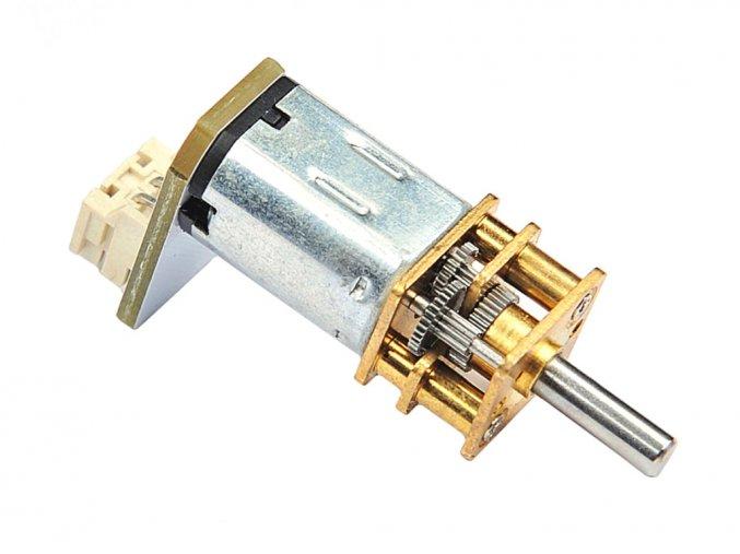 N20 DC motor 3V s kovovou převodovkou 300RPM detail