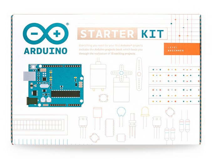 Arduino Starter Kit box