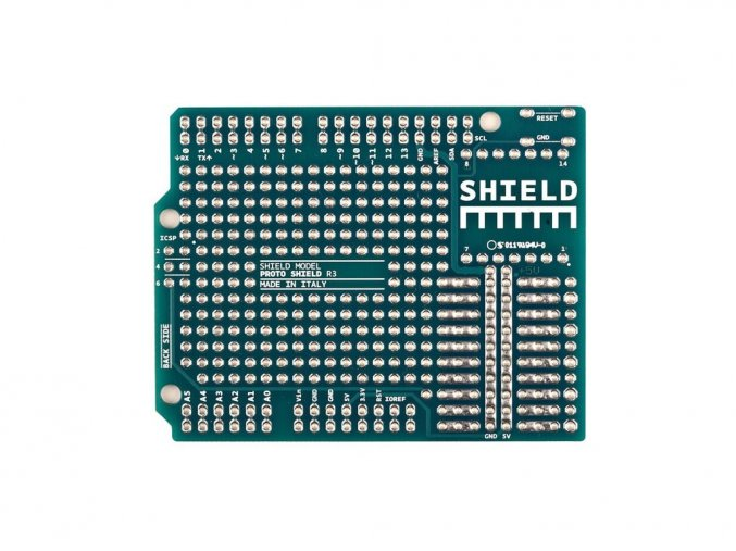 Arduino Shield na bastlení (PCB)