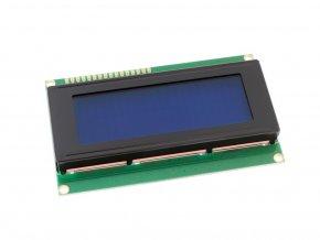LCD displej 20x4 modrý s podsvětlením zepředu 1