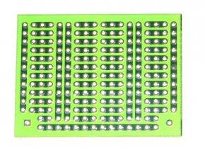 Mini univerzální plošný spoj 48x36mm