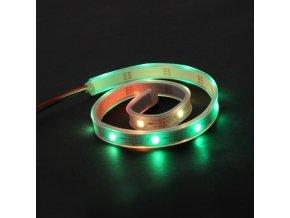 RGB LED pásek - adresovatelný, utěsněný - zelená