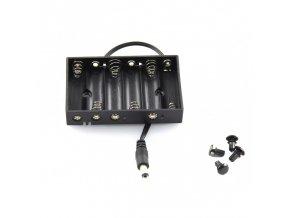 Držák tužkových baterií (6 x AA)