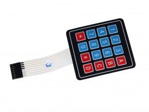 Maticová klávesnice 4 x 4 membránová