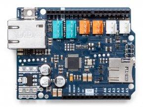Arduino Ethernet Shield 2 bez PoE svrchu