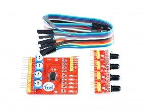 4kanálový infra senzor překážek YL-70 pro Arduino