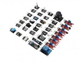 Senzor kit pro Arduino - 37 elektronických modulů