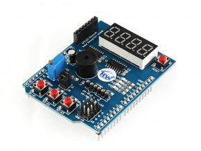 Výukový multifunkční Shield pro Arduino