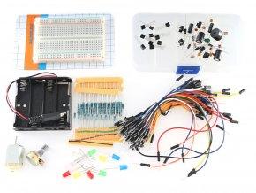 Bastlířská sada elektronických součástek