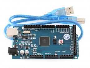 Klon Arduino MEGA 2560 R3 + USB kabel