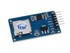 Modul čtečka Micro SD/SDHC karet