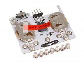 """Power:bit pro micro:bit V2 - """"nositelný"""" napájecí modul2346 1 kopie"""