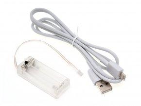Držák baterií + USB kabel pro micro:bit