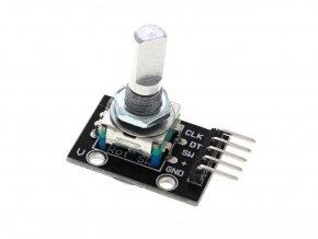 KY-040 rotační enkodér s tlačítkem