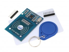 RC522 RFID čtečka + klíčenka a karta