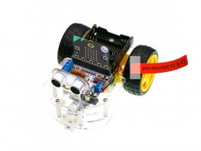 Chytrý micro:bit robot s motor:bit s micro:bit V2