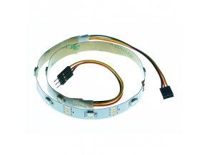 Neopixel RGB LED pásek -10 LED, GVS konektor