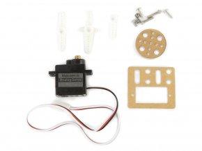 9g Micro Servo Pack (kovové převody)