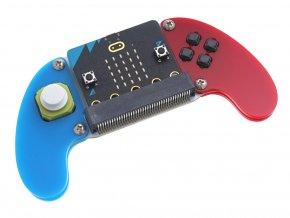 Joystick:bit V2 Plus s úchyty - gamepad modul s micro:bit