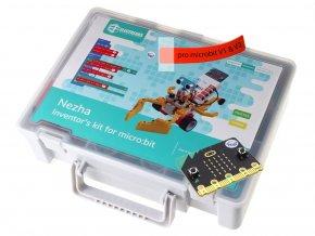 NEZHA Inventor's Kit pro mladé vynálezce (bez desky micro:bit) projekty