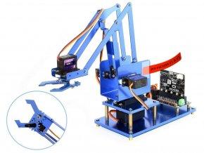 4-DOF kovová robotická ruka pro micro:bit 1