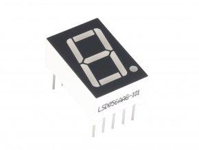 7-segmentový LED displej - zelený