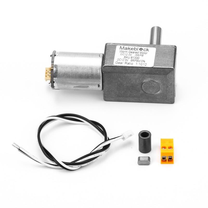 Makeblock Motor se šnekovou převodovkou 6 RPM