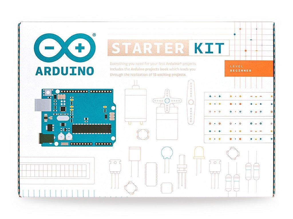 Arduino.cc Arduino Starter Kit - natržený obal
