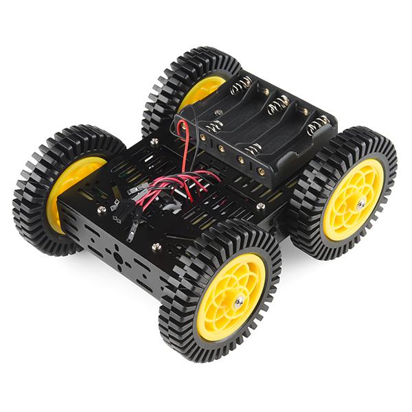 SparkFun Robotický podvozek - 4WD Kit (ATV)