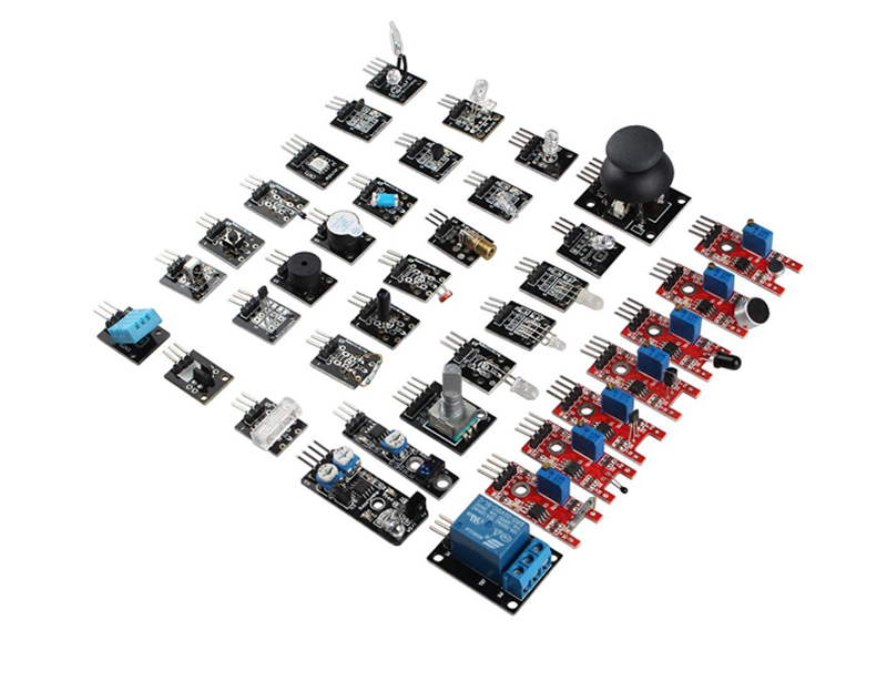 HWKITCHEN Senzor kit pro Arduino - 37 elektronických modulů HW386