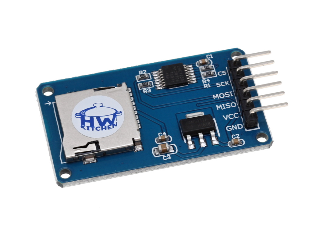 HW Kitchen Modul čtečka Micro SD/SDHC karet
