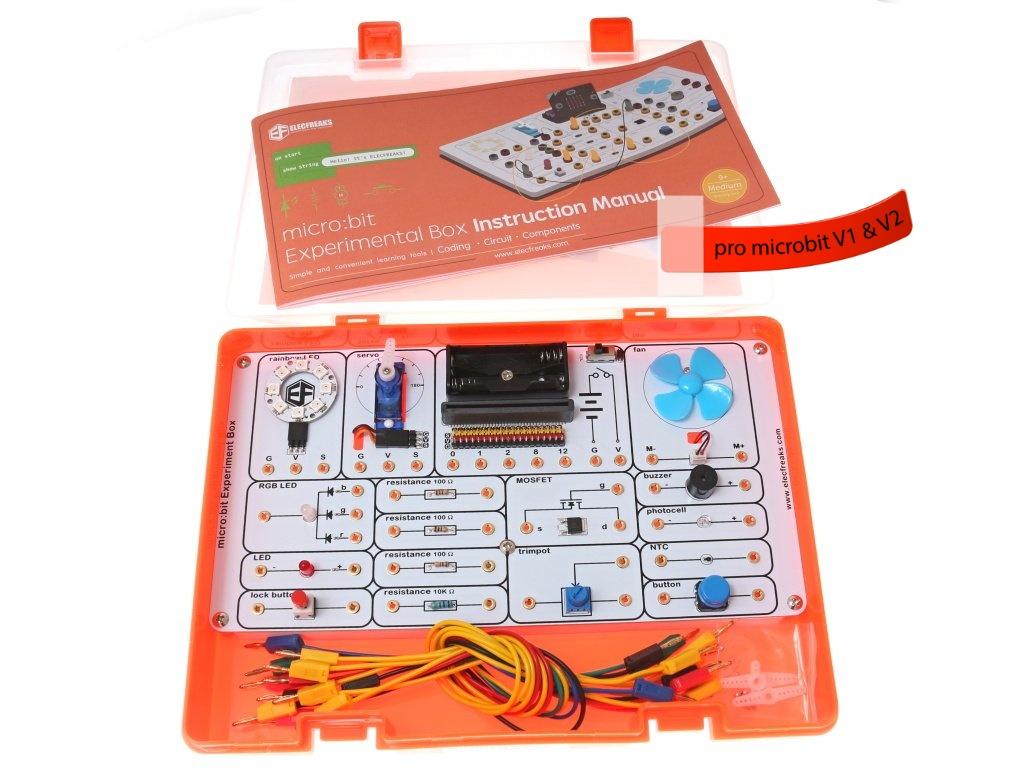 ElecFreaks BBC Micro:bit Experiment Kit Varianta kitu: bez desky micro:bit V2