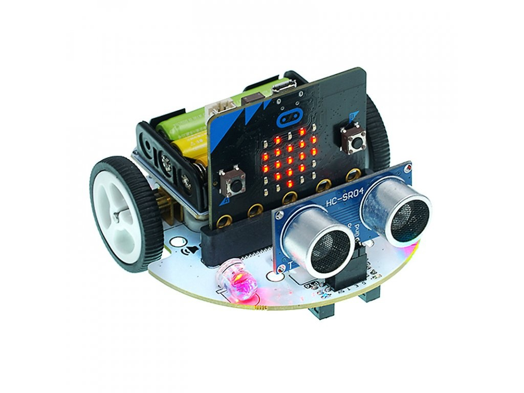 ElecFreaks Cutebot - Micro:bit chytré auto Varianta kitu: bez modulu Micro:bit