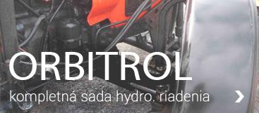 Sada hydrostatického riadenia na Zetor