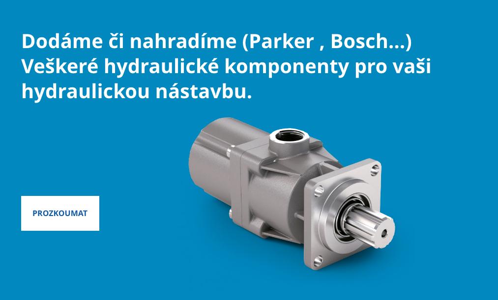 Veškeré hydraulické komponenty
