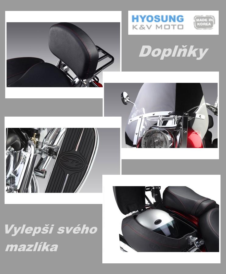Doplňky pro motocykly