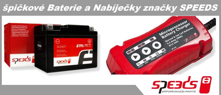 Špičkové baterie a nabíječky