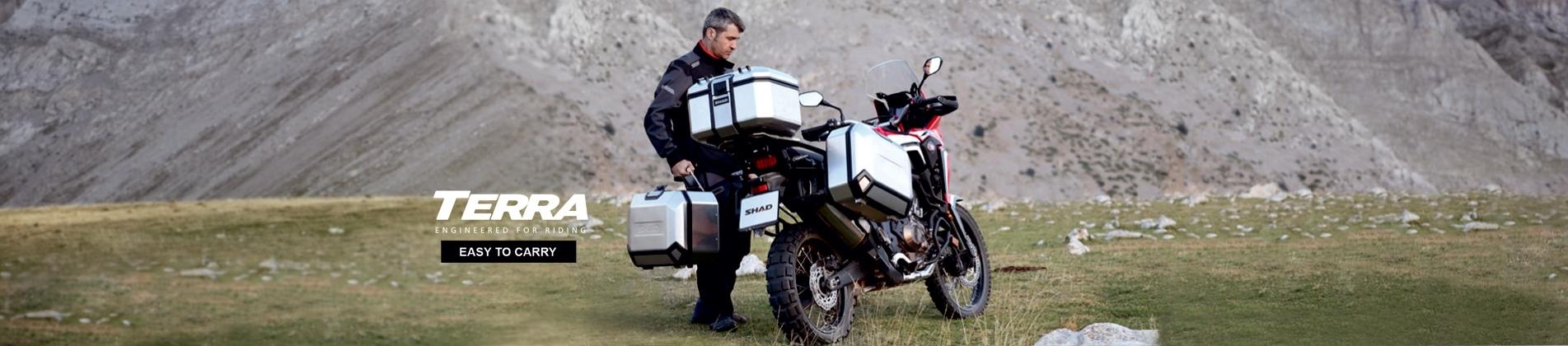 Kufry a nosiče SHAD