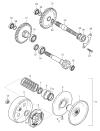 FIG17 Převodovka a odstředivá spojka