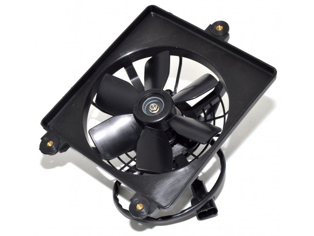 [3] Ventilátor chladiče kompletní (FIG03) - Hyosung GV 650