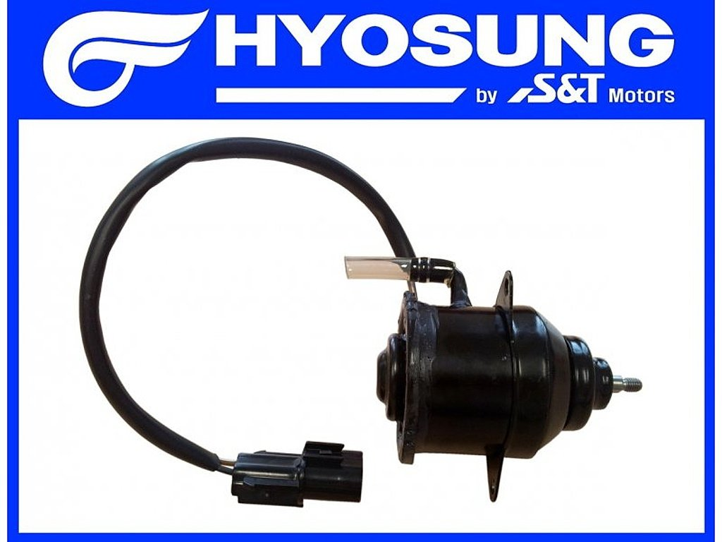 [4] Elektromotor ventilátoru (chladič a ventilátor) - Hyosung GV 650