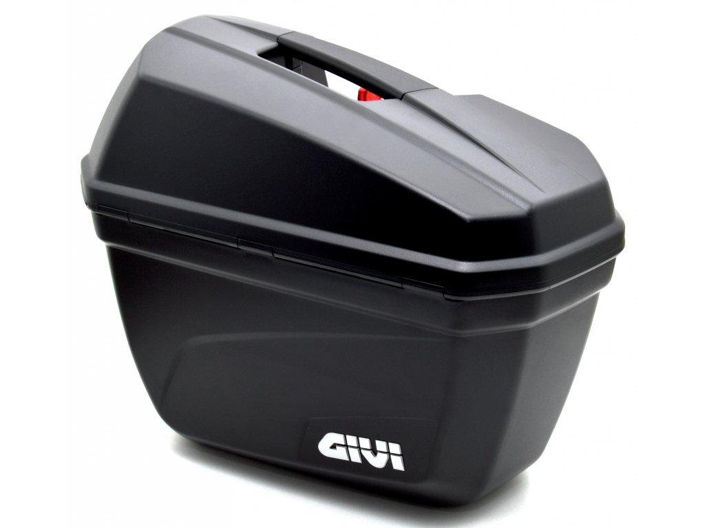 Boční moto kufry GIVI 2x22 litrů