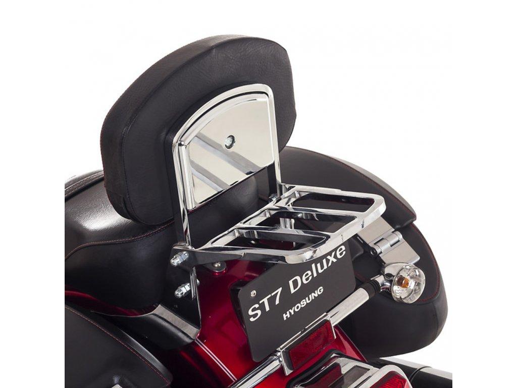Zadní nosič DELUXE bez držáků (Hyosung ST 700i)
