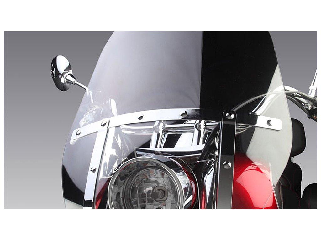 Větrný štít DELUXE - čirý (Hyosung ST 700i)