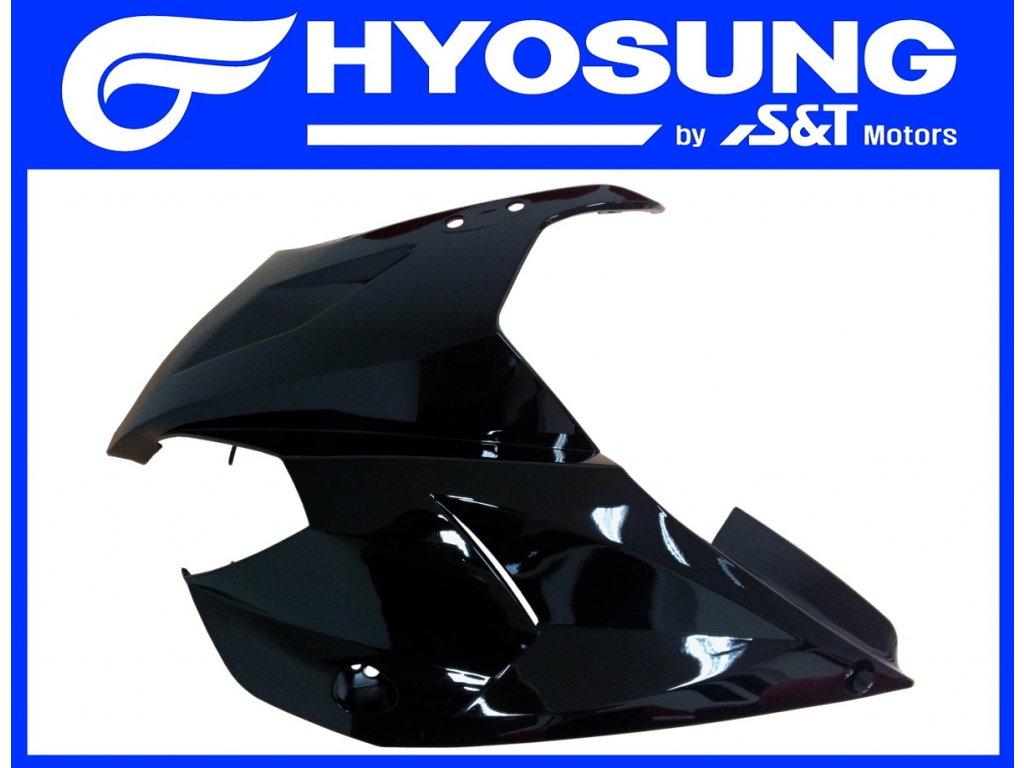 [4] Kapota přední levá / černá (kapotáž přední horní) - Hyosung GT 650 S & R