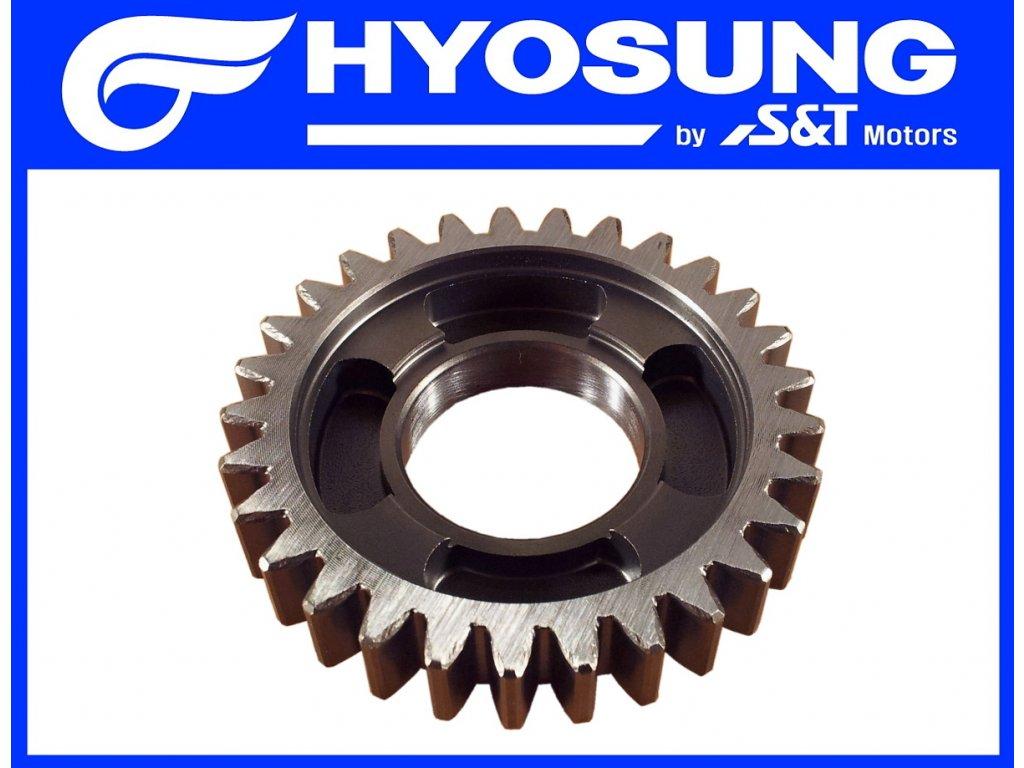 [18] Ozubené kolo / 3 rychlostní stupeň (převodovka) - Hyosung GT 650 S & R
