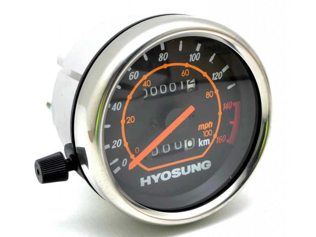 [5] Ukazatel rychlosti v Km/h a Mp/h (FIG21) - Hyosung GT 125 N