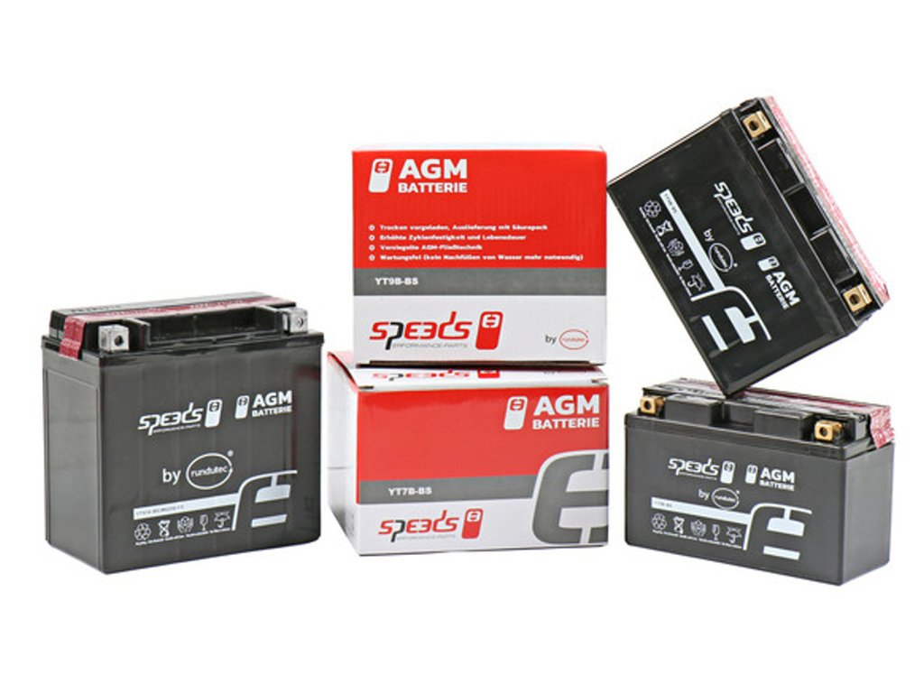 Baterie SPEEDS AGM YTX9-BS (12V, 8Ah)